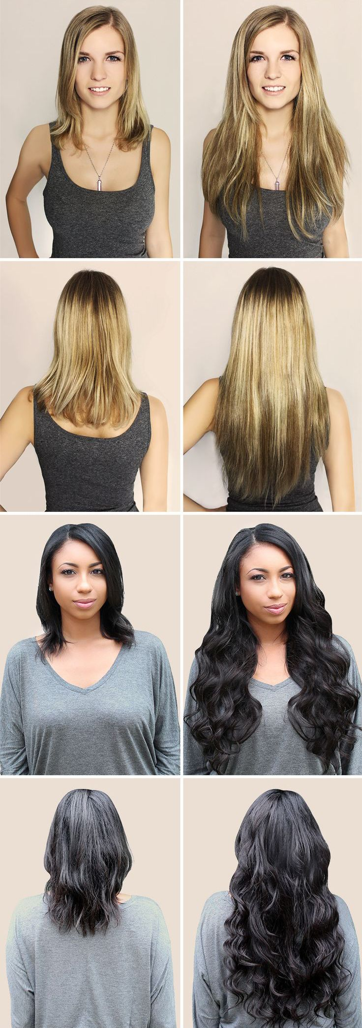 34 best hair extensions before after tyhermenlisa hair hair extensions before and after pmusecretfo Choice Image