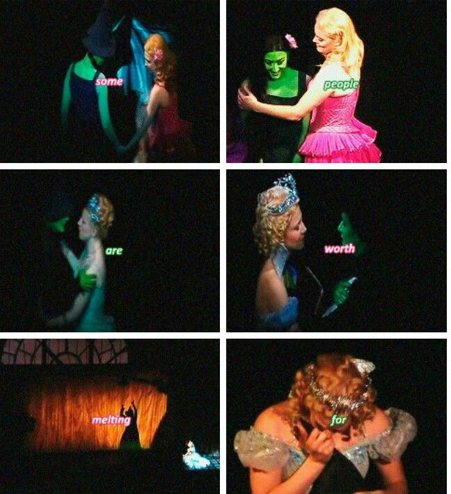 The Frozen/Wicked mashup that finally killed me.