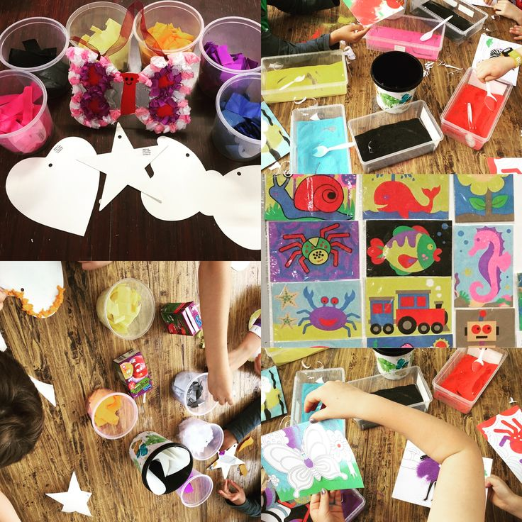 Loads of craft fun on Sunday with Robbi and his friends!!! #kidspartymelbourne #kidsbirthday #kidscraft
