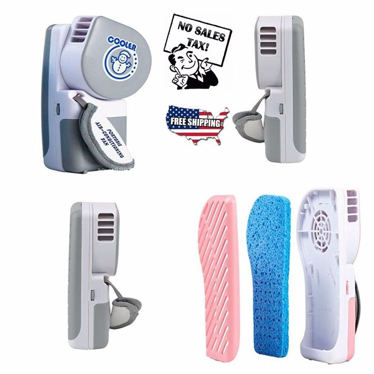 Mini Air Conditioner Small Fan Portable AC Personal Handheld Cool Cold Summer #airconditioner #AC #Fan #Personalfan #cold #portable #cooling #ebay