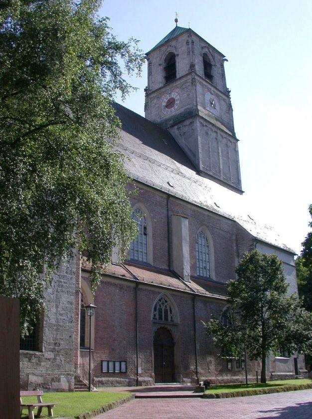 Wasserburg am Inn, Stadtpfarrkirche St. Jakob