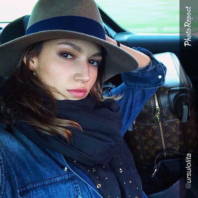 Ursula Corberó con sombrero Ba&Sh de Cool The Sack. Zielo Shopping Pozuelo