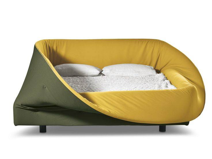 COLLETTO Bed by Lago design Nuša Jelenec