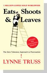 Currently reading. Zero tolerance approach to punctuation, LOL.
