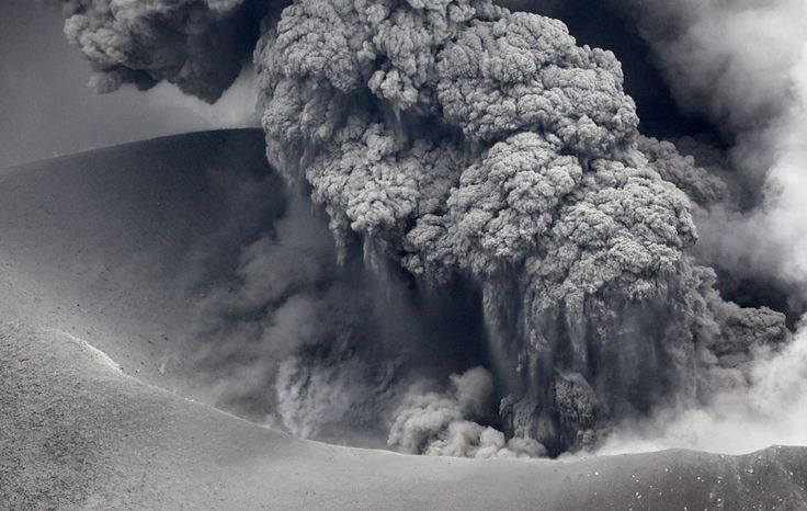 Ash and rocks fell across a wide swath of southern Japan straddling the prefectures of Miyazaki and Kagoshima, as one of Mount Kirishima's many calderas erupted, prompting authorities to raise alert levels and call on for an evacuation of all residents within a 2 km (1.2 miles) radius of the volcano.