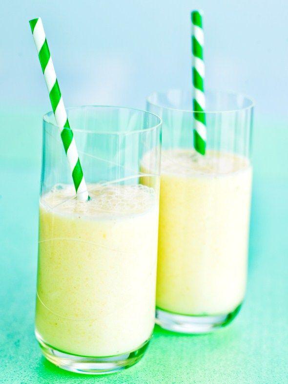 Pineapple smoothie - Helppo ananassmoothie, resepti – Ruoka.fi