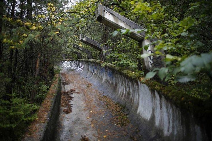 Sarajevo - Abandoned 1984 Winter Olympics Venues
