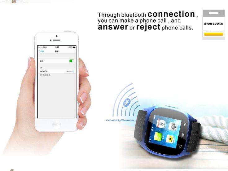 R-Watch M26 Inteligentní sportovní hodinky Anti-Theft Bluetooth 4.0 f Phone…