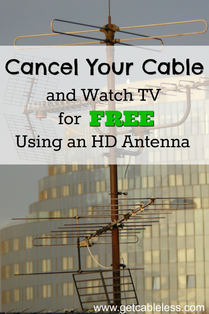 It was so easy to cancel our cable and watch TV for FREE using one of these HD antennas! We are saving so much money each month now that we cut the cord!