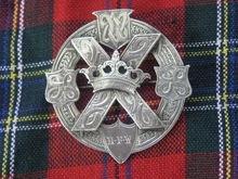Fabulous Victorian Scottish Silver Brooch w/St. Andrews Cross