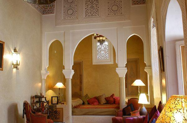un superbe appartement dans un beau Riad de la Médina de Marrakech