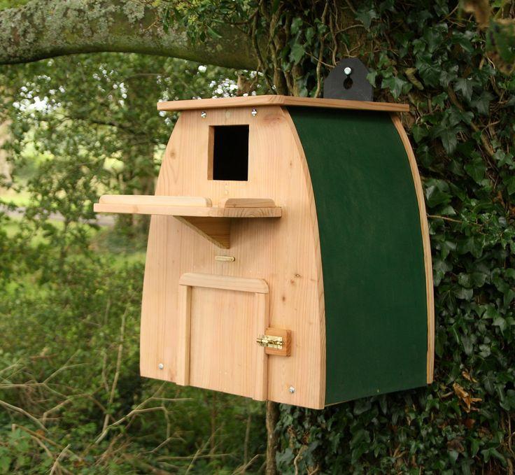 Barn owl nest box plans for Nest home design