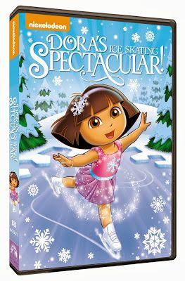 Dora the Explorer: Dora's Ice Skating Spectacular! DVD giveaway on Sugar Pop Ribbons