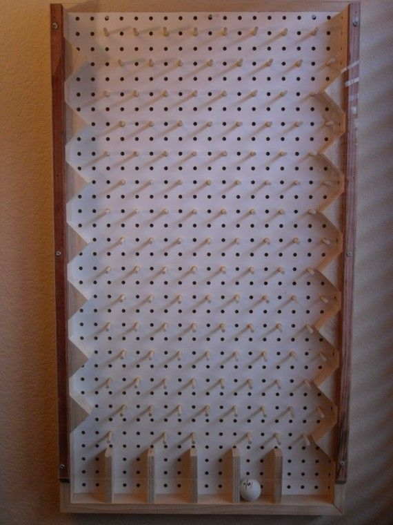 Would love to make this plinko game for my kids.
