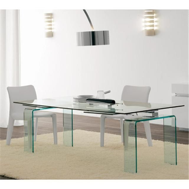 14 Best Dining Tables Images On Pinterest  Dining Rooms Dining Magnificent Italian Glass Dining Room Tables Review