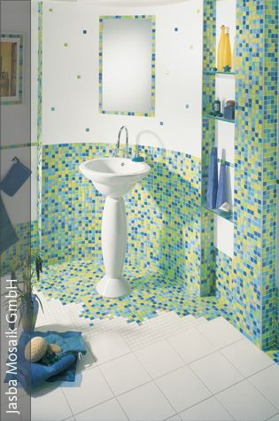1000+ Ideas About Badezimmer Blau On Pinterest | Badezimmer, Tile ... Blau Fr Dachschrage