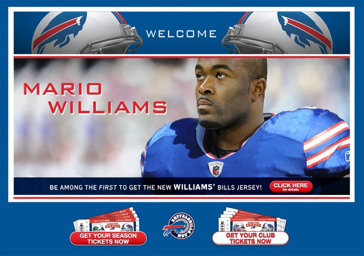 register here to get info about Mario Williams jersey!