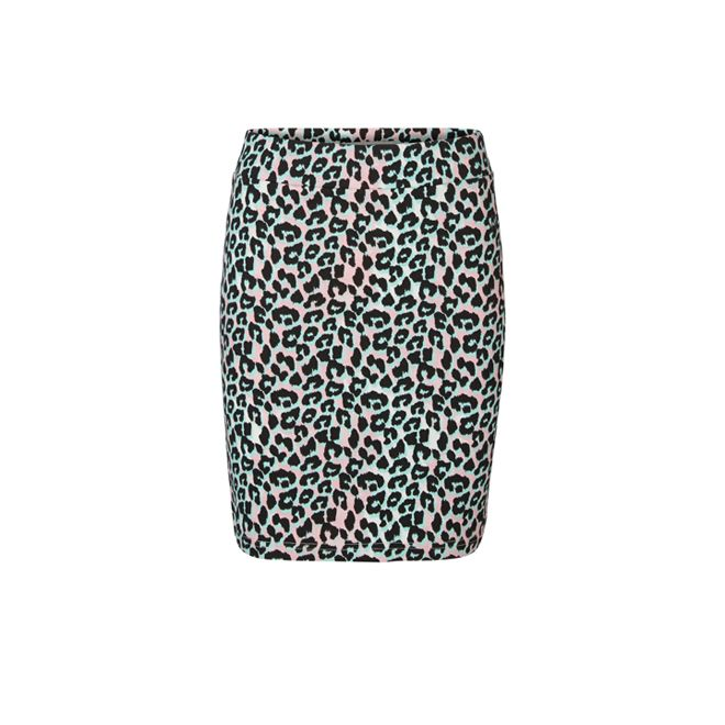Falda lápiz leopardo - shopping faldas de otoño
