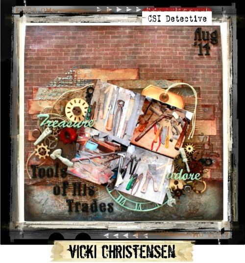 Major Case File No. 172 {Case closes on August 31, 2015} - CSI: Color, Stories, Inspiration