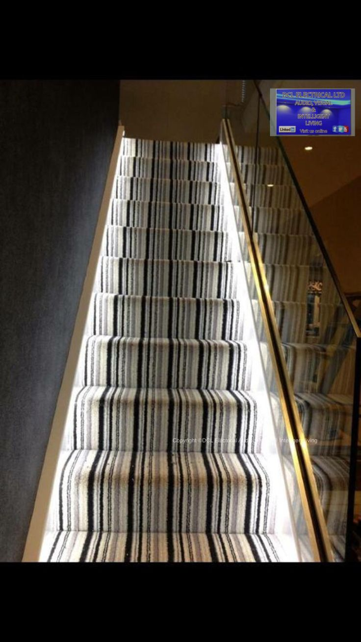 Invisible Staircase led lighting