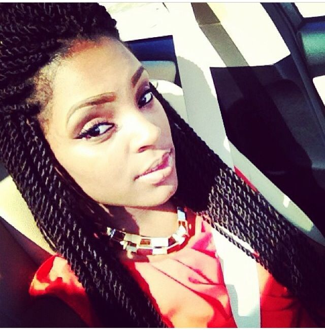 rope twists hairstyles : Senegalese twists, Rope twist and Twists on Pinterest