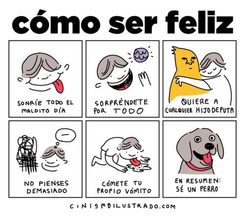 Cómo ser feliz.