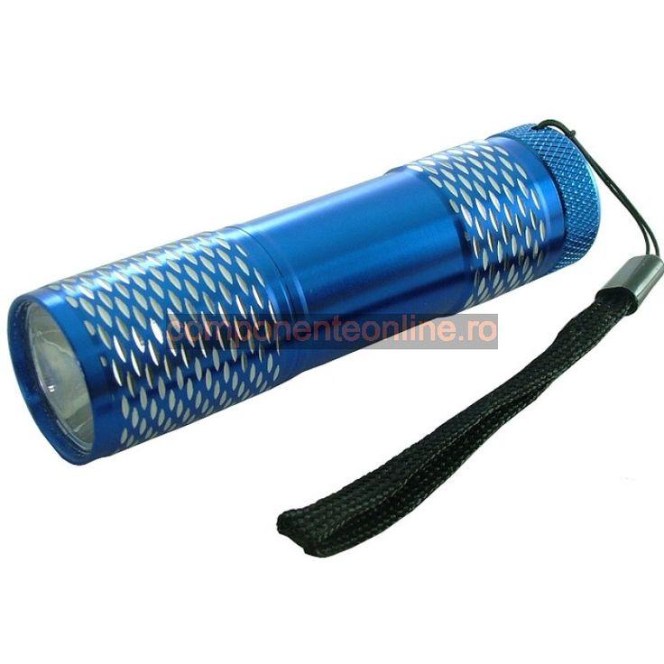 Lanterna cu 1 LED, carcasa aluminiu - 113372