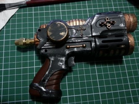 Mi primera pistola steampunk