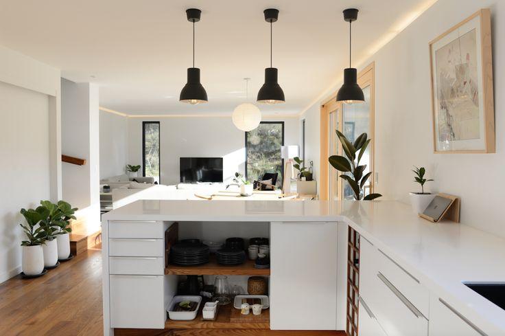 Climate House, Kitchen, Wooden Flooring, IKEA,