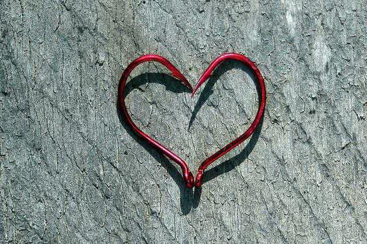 25 best ideas about fish hook tattoos on pinterest hook for Fish hook heart tattoo