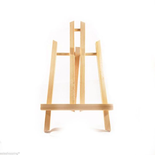 Cavalletto per pittura treppiede in legno da tavolo altezza 40 cm