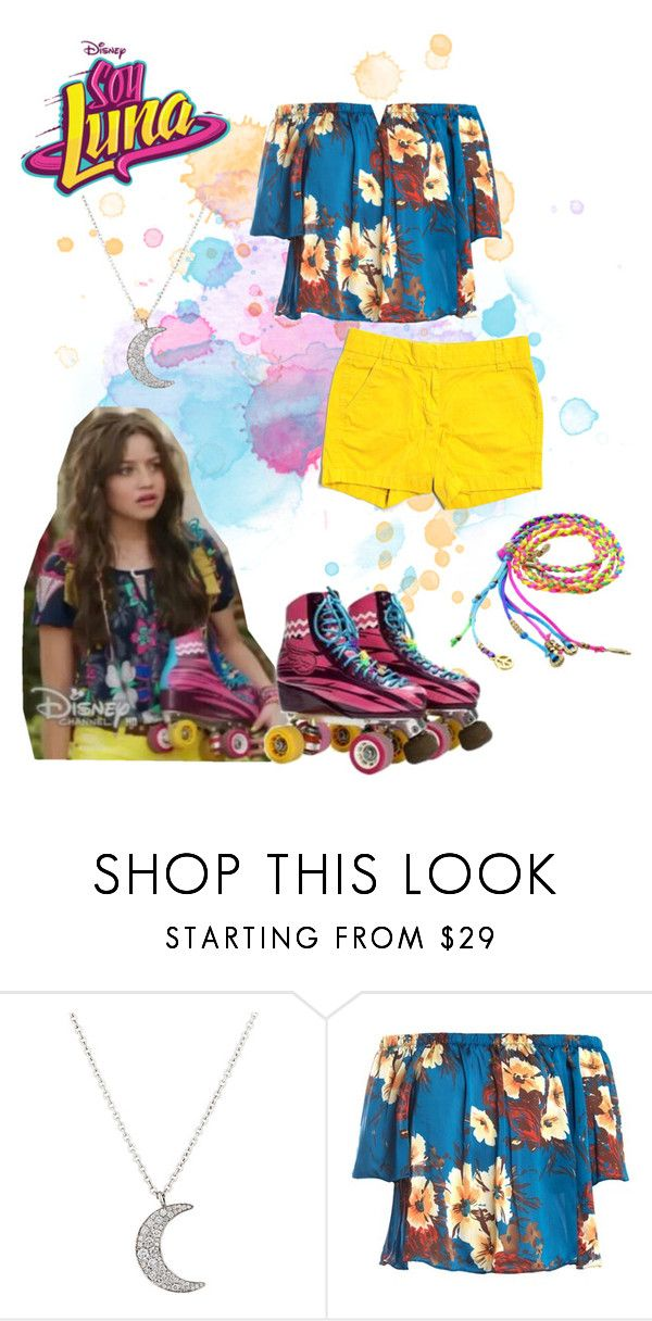 """""""soy luna"""" by maria-look on Polyvore featuring Finn, Sans Souci and J.Crew"""