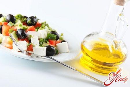 Соус для греческого салата с французской горчицей