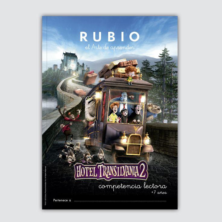 Cuaderno exclusivo RUBIO Hotel Transilvania 2 Competencia Lectora.