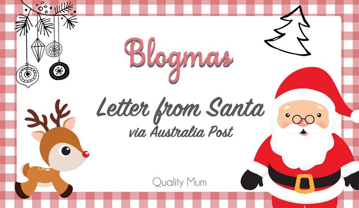 Australia Post with the help of Santa's little helpers can send replies to Children's Letters to Santa.