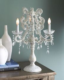 Mini Crystal Table Lamps: Chandelier table lamp,Lighting