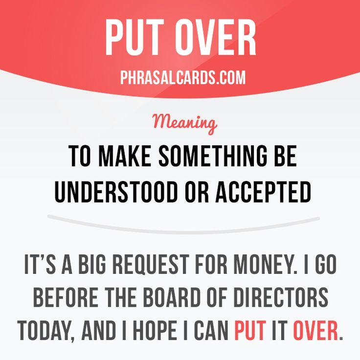 Put over