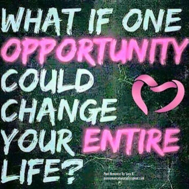 Ask me how today!   pureromancebysarad@gmail.com