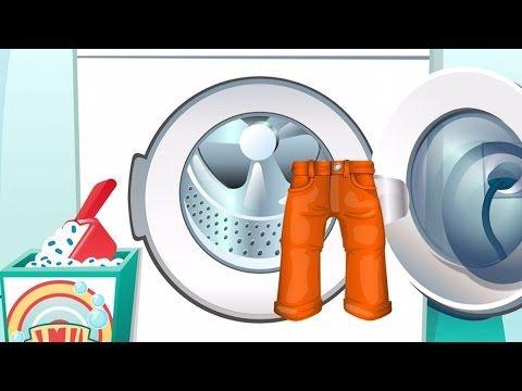 Alle Kinder können... Wäsche waschen! Kleinkinder App für iPad, iPhone