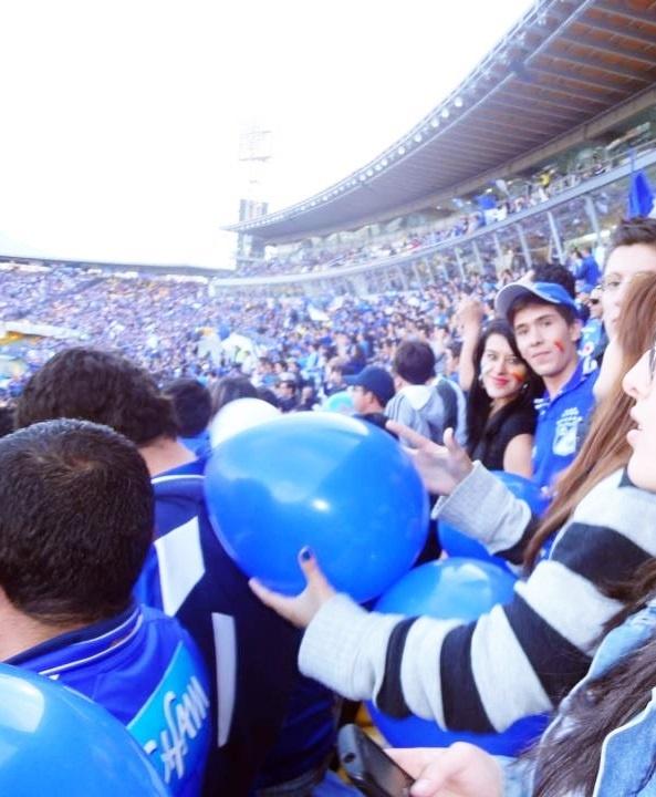 ¡Azul todo pintado de azul!