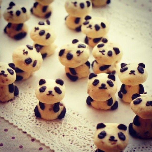 Panda Cookies// @Justina Siedschlag Siedschlag Balnaite Sriubaite