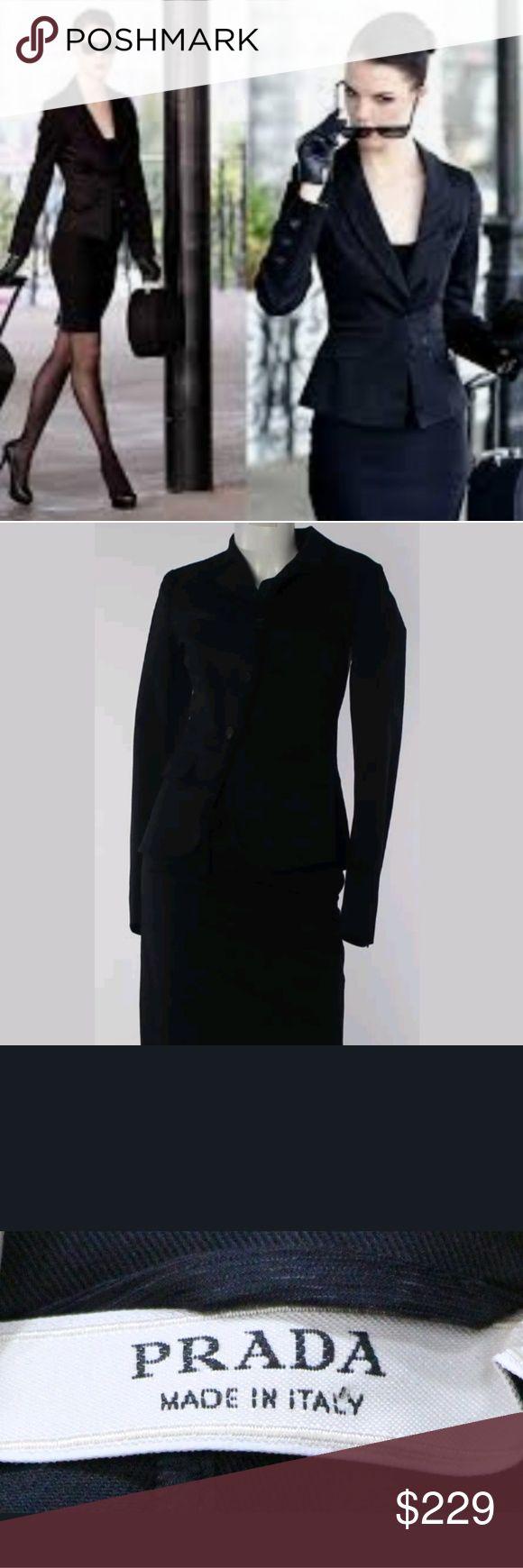 Prada cotton blend skirt suit AUTHENTIC Prada skirt suit. Prada Skirts Skirt Sets