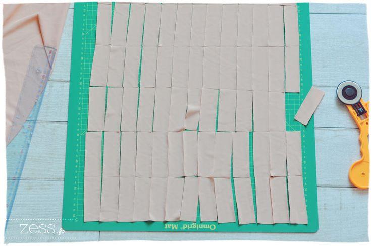 latch hook rug fabric tapis noué en tissu