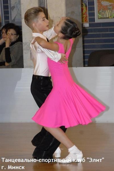Платье для занятия хореографией детское