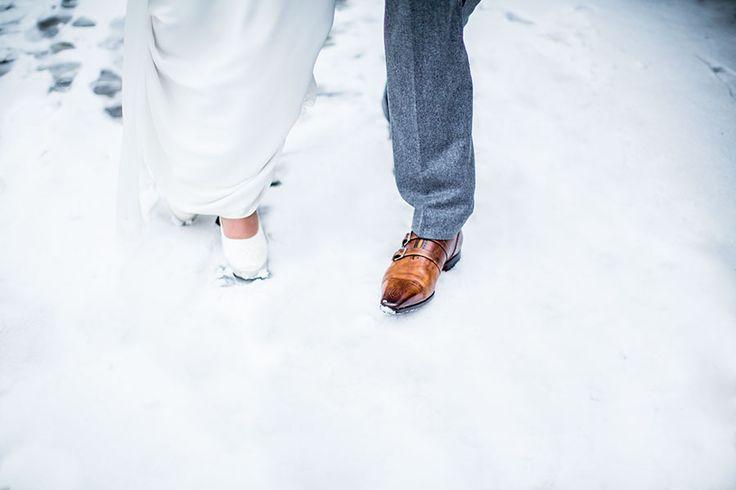 Snow at your wedding, winter wedding, Netherlands, Holland