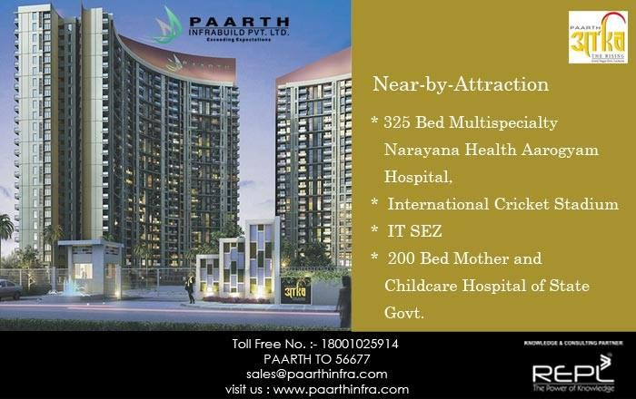 Paarthinfra avails 2 BHK flats in Lucknow for comfort of customer in a very affordable price and a good square area. Customer can choose flats floor on their accordance and can also make changes for their convenience in their own flats at time of construction.