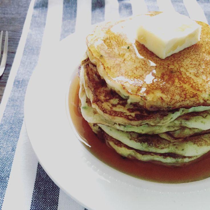 Edible Life in YYC: Lemon-Ricotta Zucchini Pancakes