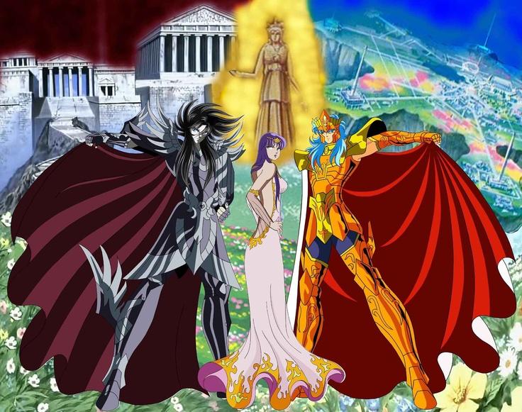Hades, Poseidon e Athena