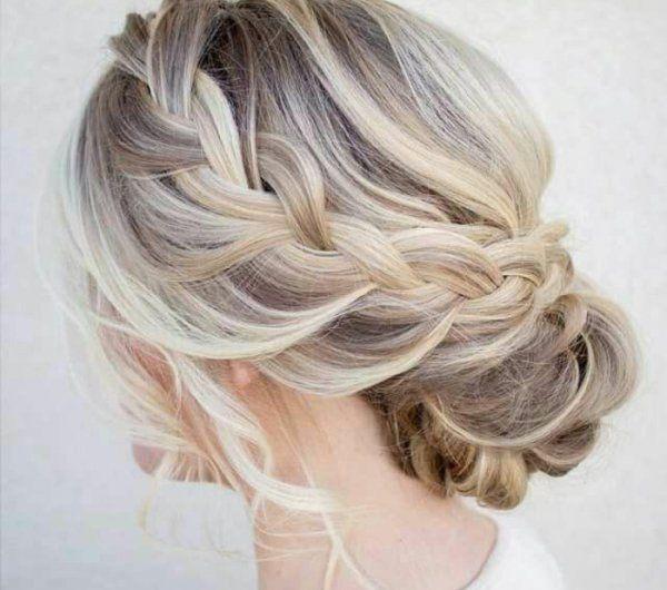 Les 20 meilleures id es de la cat gorie chignon cheveux mi long sur pinterest coiffure cheveux - Coiffure facile mariage ...