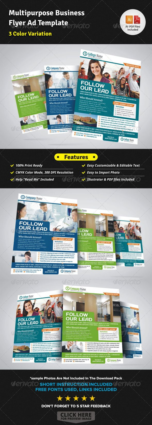 best ideas about print templates fonts flyer multipurpose business flyer ad template graphicriver corporate business flyer template creative clean and